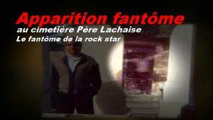 L' apparition de la rockstar au cimetière Pierre Lachaise