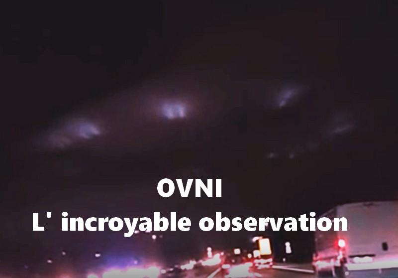 Oh ! un OVNI