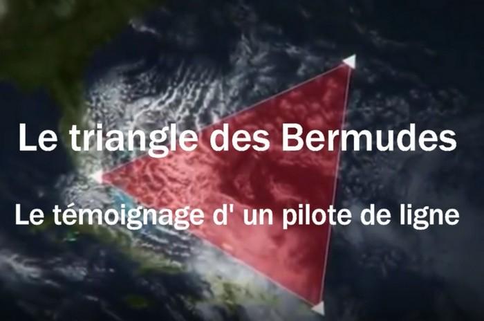 Le triangle des Bermudes, le témoignage d' un pilote de ligne.
