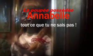 Annabelle la poupée possédée