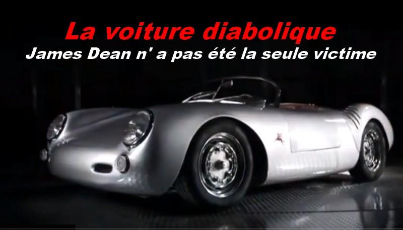 La voiture diabolique de James Dean