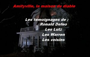 Amityville, Ronald Defeo parle.