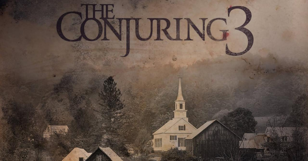 The conjuring 3 bande annonce